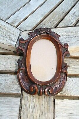 Lovely Victorian Carved Wooden Picture/Photo Frame
