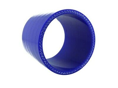 Silicone connector 38mm, 75mm length, blue | BOOST products