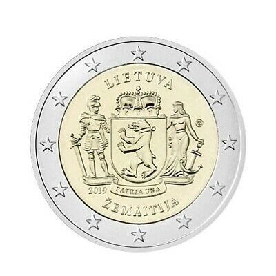 2 euro commemorative coin Lithuania 2019 - Samogitia