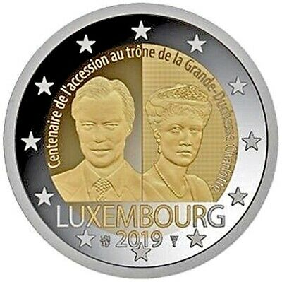 2 euro commemorative coin Luxembourg 2019 - Grand-Duchess Charlotte