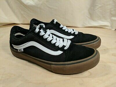 87b9b233ed927 Vans Old Skool Ultracush Pro Skate Shoes Men's Size 8.5 Black / White