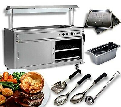 6ft Wet OR Dry Mobile Carvery unit Hotcupboard Package Deal, Golf Society, Pub