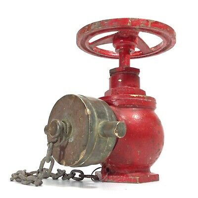 Vintage Solid Brass Fire Hydrant Top