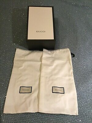 Authentic Genuine Gucci Empty Shoe Gift Box Large Size with Pouches
