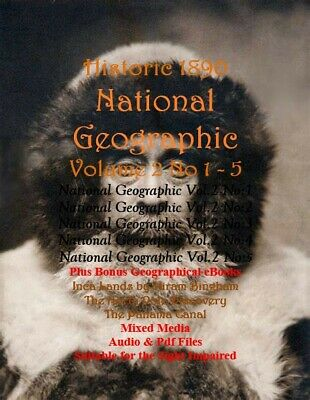National Geographic - Historic Volume 2 -  1 to 5 + More eBooks in Pdf Format