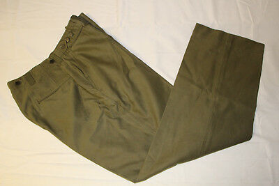 WWII US ARMY 2nd PATTERN M43 OD FIELD TROUSERS PANTS 34X32 MINT CONDITION