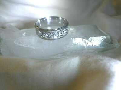 Rare Captivating! Knights Templar Ascending Master Ring Amulet Wicca Para Meta