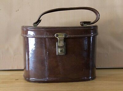 Lovely Brown Vintage Style Makeup Case - Pickup Marsfield.