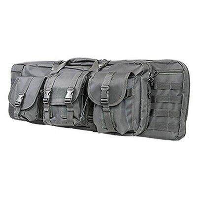 "NcStar VISM Tactical 36"" Urban Gray Padded Double Carbine Rifle Gun Case Bag"