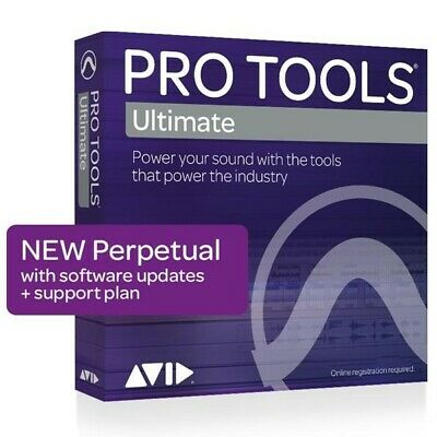 ​New ​Avid Pro Tools Ultimate Perpetual License 9938-30007-00 eDelivery PT