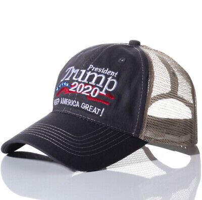 Donald Trump 2020 MAGA Embroidered Hat Keep Make America Great Again Cap Camo GQ