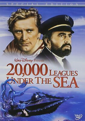 20000 LEAGUES UNDER THE SEA New Sealed DVD 1954 Disney