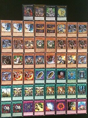 Yugioh Light And Darkness Dragon Deck- Darkflare- Lightpulsar- Chaos Near Mint