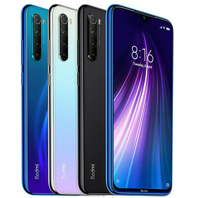Ohne sim Xiaomi Redmi Note 8/Note 7 4G Handy Android 9.0 64GB/128GB 48MP 2SIM DE