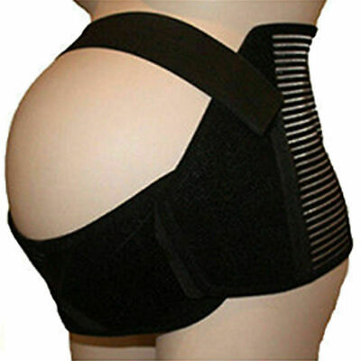 UK Maternity Pregnancy Support Belt Waist Band Belly Bump Brace Lumbar Back