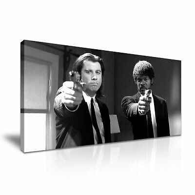 PULP FICTION Stretched Canvas Wall Art ~ More Size