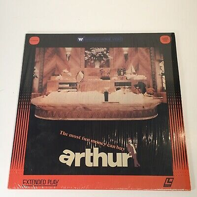 Arthur Laserdisc Extended Play Dudley Moore Orion Pictures