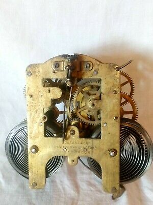 Vintage English Manufacture Clock Movement B F A? London