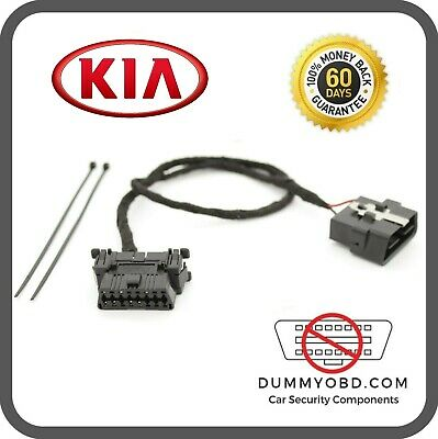 KIA DUMMY FAKE OBD2 PORT anti theft burglar security / OBD lock.