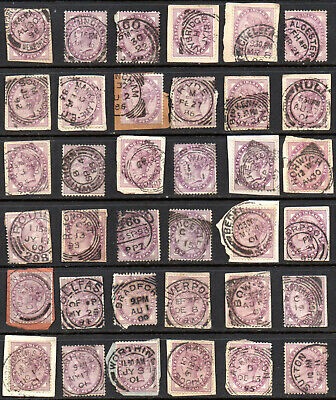 Collection Penny Lilacs Super CDSs Mostly Tied Original Piece.