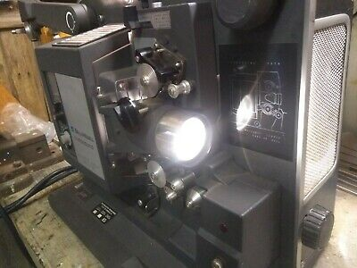 BELL & HOWELL FILMOSOUND 16mm PROJECTOR~WORKING