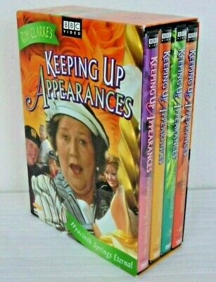 Keeping Up Appearances: Hyacinth Springs Eternal 5-8 (4-DVD Box Set) Excellent!
