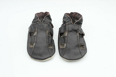 *DISCONTINUED* Dotty Fish Soft Leather Baby and Toddler Sandals