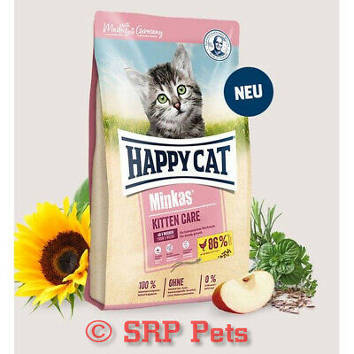 Happy Cat Minkas Kitten Care Chicken, FAST & FREE UK DELIVERY