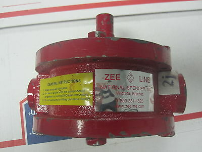 "Zee Line Pump Head - Pump Head Only 1"" & 1-1/4"""