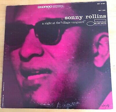 Sonny Rollins A night at the Village Vanguard BST 81581 Blue Note LP NM 1967