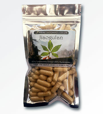 Jiaogulan ( 70:1 equivalent to 28,000mg ), Vegetarian Capsules