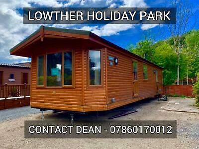 Pre owned LOG CABIN lodge chalet for sale Lake District 11mth cheap fees cumbria