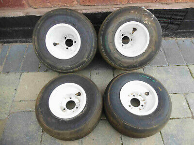 Go kart slick rims / triple stud fitting / Go Kart