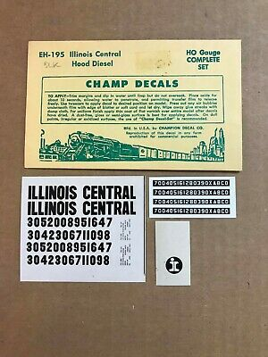 Tichy Train Group #10228 Decal for IC Reefer 40/' Steel Reefer HO