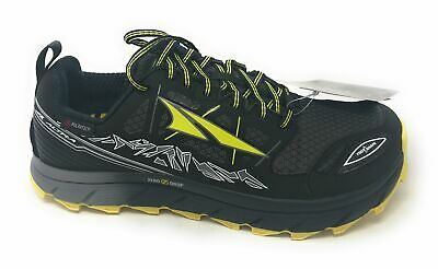 Altra Mens Lone Peak Neoshell 3.0 Gray//Red Running Shoes Size 9 364453