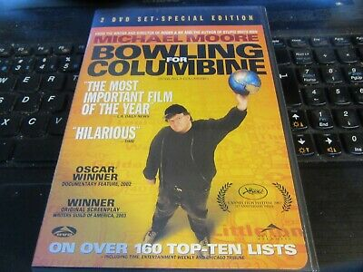 Bowling For Columbine (DVD, 2002) 2 Disc Set Special Edition {Michael Moore}