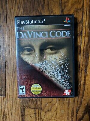 The Da Vinci Code (Sony PlayStation 2, PS2, 2006) COMPLETE Video Game