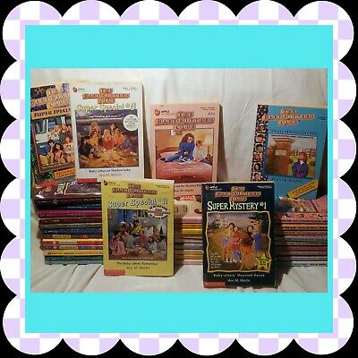 Babysitters Club Books / and other 80s series / pick your 4 titles
