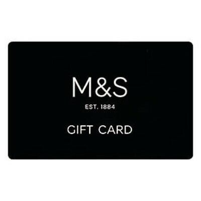 £100 in Marks and Spencer gift cards of mixed denomination