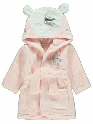 Baby Girls  My little pony Pink Unicorn Pyjama Dressing Gown 0-24 MONTH