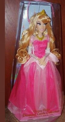 """*DIAMOND CASTLE PARKS COLLECTION 17"""" AURORA Limited Edition Doll!"""
