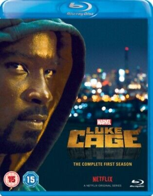 Marvel's Luke Cage: The Complete First Season (BLU-RAY 4 DISC BOX SET) *NEW*