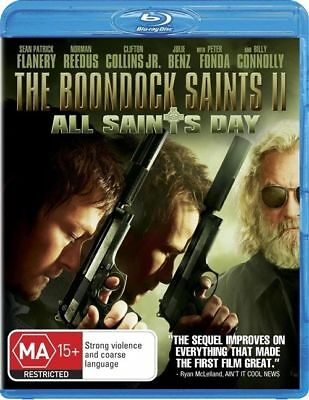 The Boondock Saints II - All Saints Day (Blu-ray, 2010) VGC - FREE POST!!