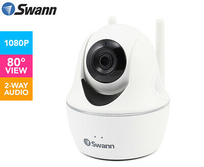 Swann WHD-PTCAM 1080P Wireless Pan & Tilt Home Security Camera