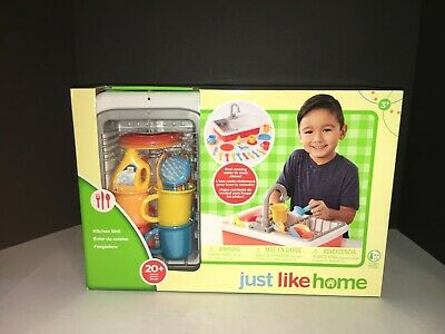 Just Like Home Kitchen Sink Set Toys R Us - Kitchen ...