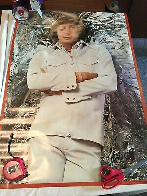 VINTAGE 1977 Original BARRY MANILOW Poster New Old Stock NOS Music