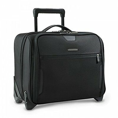 Briggs & Riley Luggage Slim Rolling Brief - Black KR251-4