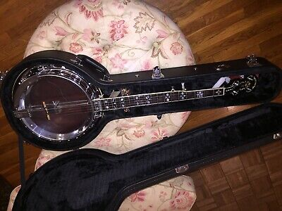 OME BANJO: Vintage Triple XXX Bluegrass Resonator with Original HSC