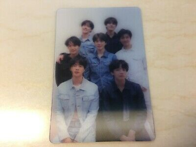 BTS GROUP [ Love Yourself TEAR Official Lenticular Special Photocard ] /NEW/+GFT