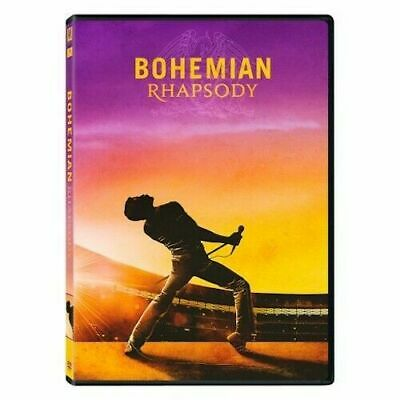 Queen Bohemian Rhapsody Dvd New Sealed 2019 Freddie Mercury Music Motion Picture